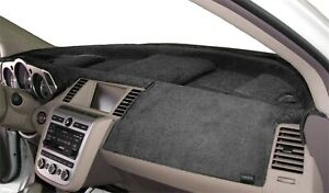 Fits Dodge Shadow 1987-1994 Velour Dash Board Cover Mat Charcoal Grey