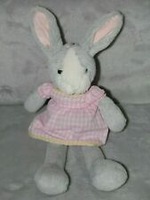 "Laura Ashley ""Easter Rabbit"" handcrafted wooden Heart Door Hanger bunny"