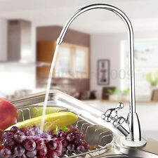 1/4'' Reverse Osmosis Chrome Plated Kitchen RO Drinking Water Filter Faucet Tap