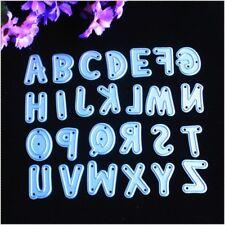 26pcs/Set Alphabet Metal Die Cutting Dies DIY 3D Scrapbooking Cards Decoration