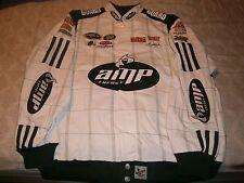 Dale Earnhardt Jr #88 AMP Chase National Guard Nascar Racing Jacket XL READ