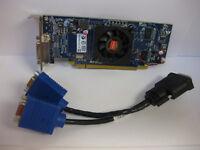 Del HD6350  AMD Radeon 1CX3M or HFKYC  512MB PCI-E x16 DMS-59 to Dual VGA Cable