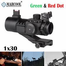 1x30 Fiber Reflex Green Red Dot Optics Sight Hunting Pistol Rifle bows Airsoft