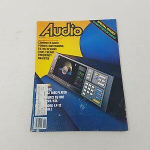 Vintage November 1983 Audio Magazine High Fidelity Electronics Advertisements
