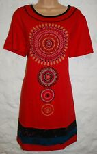 New Fair Trade Dress 16 18 Ethnic Boho Ethical Nepal Cotton Flowers Festival