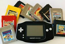 Nintendo Game Boy Advance + 9 Spiele
