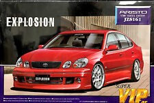 Aoshima 1/24 Aristo V300 Vertex Edition JZS161 Super VIP Car Model Kit 024669