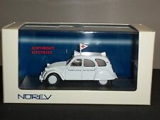 NOREV 150081 CITROEN 2CV AMBULANCE DIECAST MODEL CAR
