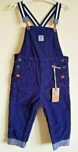 Timberland Baby Boy 12 Months/ 71cm Cord Winter Dungarees Padded LiningBNWT