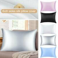 100% Pure Silk Pillow Case Slip Anti-wrinkle Silk Pillowcase Bedding Bedroom