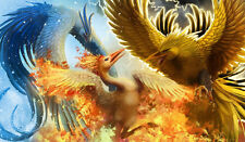 Pokemon GO Articuno, Zapdos, Moltres Custom Playmat/Mouse Pad #19 FREE SHIPPING