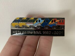 Farewell Midland Mainline HST Badge