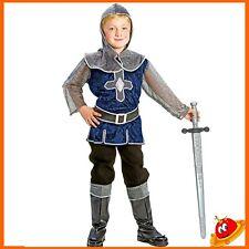 Per Bambini Medievale Cavaliere Costume Ragazzo Bambino Libro Settimana Vestito M