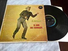 """EL PIPORRO El Amo del Taconazo 12"""" LP Lalo Gonzalez MusArt RARO Chente Rancheras"""