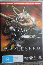 APPLESEED SPECIAL EDITION RARE DELETED REGION 4 DVD MOVIE ANAMORPHIC WIDESCREEN