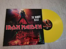 Iron Maiden – The Hungry Beast - 2011 - LTD - MADE IN UK - YELLOW