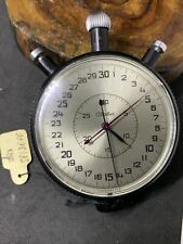 VERY RARE 2Mchz Slava USSR Russian Soviet stopwatch 15 jewels 5498 #1427