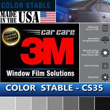"3M Color Stable 35% VLT Automotive Car Truck Window Tint Film Roll 30""x6"" CS35"