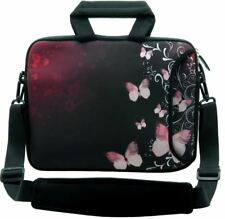 "LUXBURG 14"" Inches Design Laptop Sleeve With Shoulder Strap & handle #DQ"