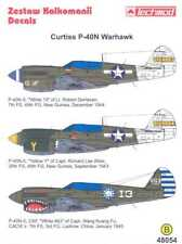 Techmod Decals 1/48 CURTISS P-40N WARHAWK Fighter