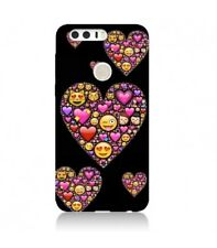 Coque Huawei P smart Smiley coeur fun love emojii emoticone