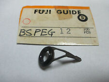 NEW - (1) Fuji BSPEG Size 12 Single Foot Spinning & Casting Rod Guide