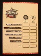 2015 NHL AllStar Game Skills Competition Itinerary ITINERARY PROGRAM & SCORECARD