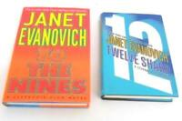 Lot of 2 Janet Evanovich Novels 12 Sharp To The Nines Stephanie Plum HCDJ