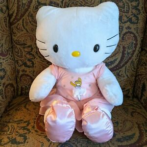 """Build A Bear Hello Kitty White Plush with ballerina outfit and shoes 18"""" stuffed"""