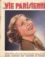 LA VIE PARISIENNE 30s curiosa LEDA swan ACHEF FABIANO CARRIZEY magazine Cygne