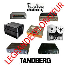Ultimate TANDBERG Service repair manuals & schematics  330 PDF manual s on DVD