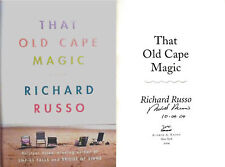 Richard Russo SIGNED & DATED That Old Cape Magic 1st/1st+ Photo