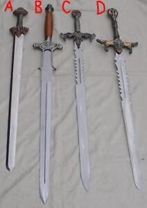 Fantacy swords of the Conan type Barbarians Warrior armor armour knight gladius