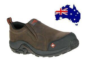 Merrell Men's Boots WORK Shoes Composite Toe WATER/Oil/slip resistant slip UK8