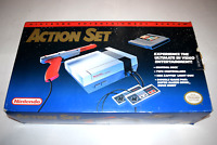 Nintendo NES Action Set Orange Zapper Console Video Game System Complete in Box