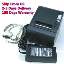 Epson TM-T88III M129C POS Thermal Receipt Printer Serial Port With Power Supply