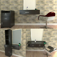 Beauty Trolley/Wall Mounted Cabinet Styling Station Hair Salon Barber Equipment