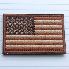 New 1pc Usa American Flag Tactical Us Army Morale Badge Swat Ops Hook Loop Patch