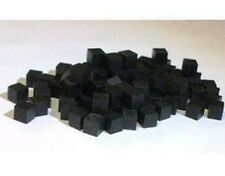 Games Accessories: Cubes - Wooden Cubes 8mm Black x 30