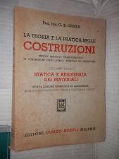 LA TEORIA E LA PRATICA NELLE COSTRUZIONI Vol 1 STATICA E RESISTENZA MATERIALI