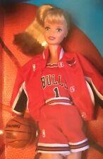 1998 NBA Chicago Bulls Basketball Barbie doll NRFB