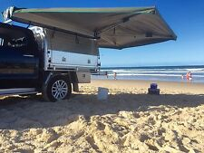 30 Second Wing Awning - Passenger Side for Camping 4x4 4WD - No poles - Grey Bag