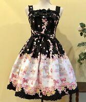 Baby The Stars Shine Bright JSK Black&Pink Sweet Lolita Nice Dress from Japan