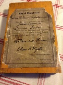 Antique Brass Drawing Boxed Set 1907,School In Manchester
