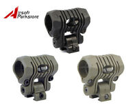 """1pc Hunting 5 Position 1"""" 25.4mm Ring Flashlight Torch Laser Mount for 20mm Rail"""