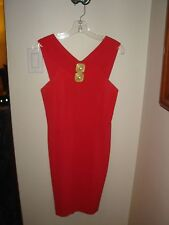 "Rare Vintage GILLIAN Coral ""Indecent Proposal"" Style Dress Size 6 Worn 2x Lovely"