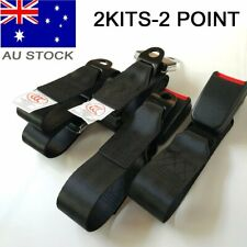 For Holden 2 Point Kits Passenger Seat Lap Sash Belt Strap Retractable Retractor