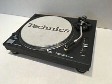 Technics SL 1200mk2/1210mk5/1200mk5G Short Turntable Faceplates Screen Printed