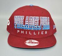 Philadelphia Phillies New Era 9FIFTY Cooperstown Collection Snapback Cap Hat