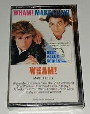 Make It Big by Wham! Cassette, Oct-1984, Columbia USA George Michael